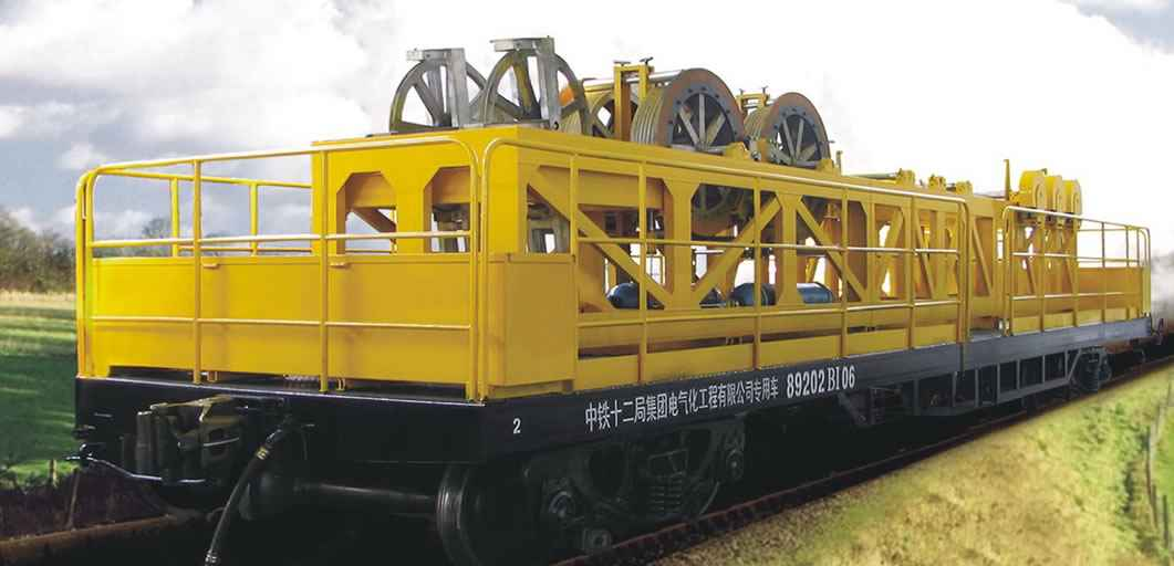 TY4B Invariable Tensile Force Unrolling Wagon