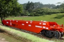 Double-deck Container Flat Car for Australia